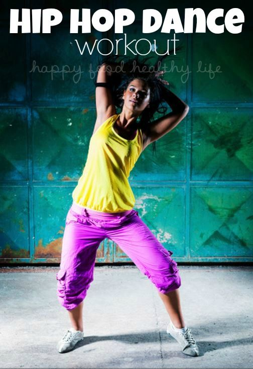 HIP HOP DANCE WORKOUT - Love Zumba but would rather dance to hip hop music? | www.happyfoodhealthylife.com