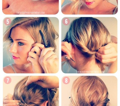 Miraculous 1000 Images About Up Do39S For Short Hair On Pinterest Short Hairstyles Gunalazisus
