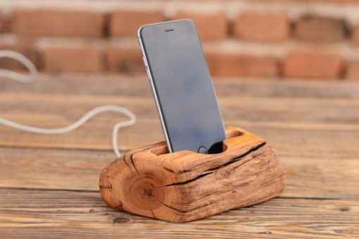 iPhone+7+wood+stand,+Wooden+iPhone+6+dock,+Samsung+Galaxy+S7+stand,+iPhone+6+Plus+holder,+Gift+for+Men,+Solid+wood+phone+station,+Docking+station
