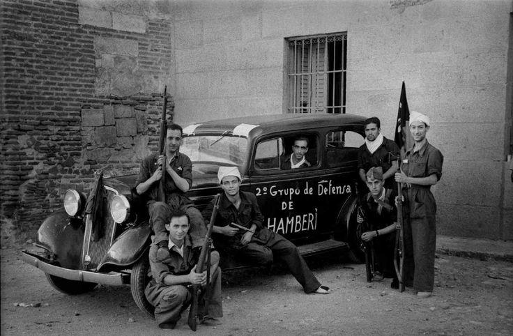 1936, agosto. 2º grupo de defensa de Chamberí, Torrelaguna, por LRM