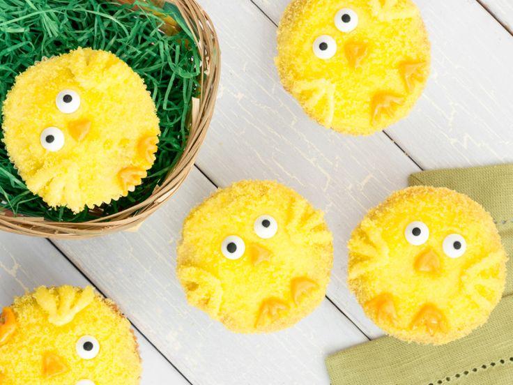 Bei dir piept's wohl: Zuckersüße Küken-Cupcakes
