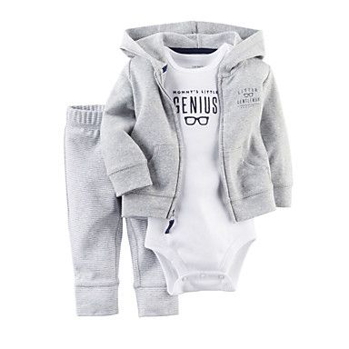 Boy's+Cotton+/+Polyester+Overall+&+Jumpsuit+/+Clothing+Set+,+Winter+/+Spring+/+Fall+Long+Sleeve+–+USD+$+18.99