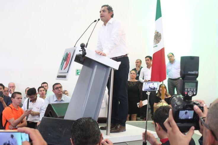 Asamblea Nacional del PRI permitirá buscar soluciones en temas de seguridad y salud: Ochoa Reza | El Puntero
