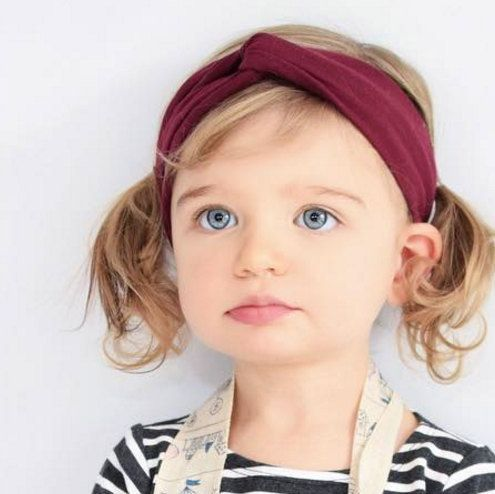 Burgundy Headwrap, Girl Headwrap, Headwrap Turban, Toddler Headband, Baby Headband, Burgundy Headband, Newborn Turban, Baby Headwrap