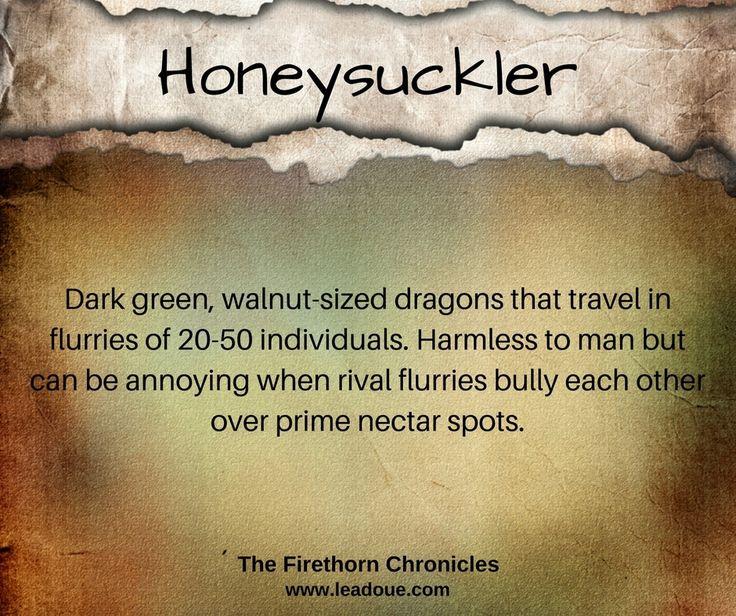 Dragon Dictionary - Lea DouéThe Firethorn Chronicles