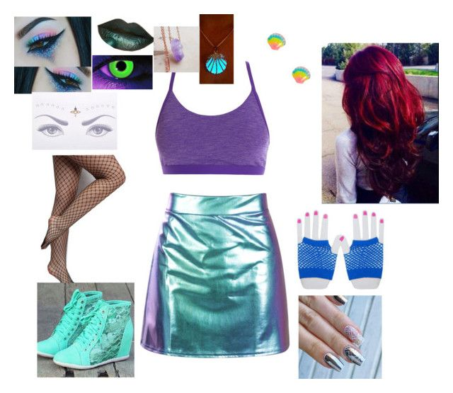 """Rave Ariel"" by messed-up-soul ❤ liked on Polyvore featuring Rare London"
