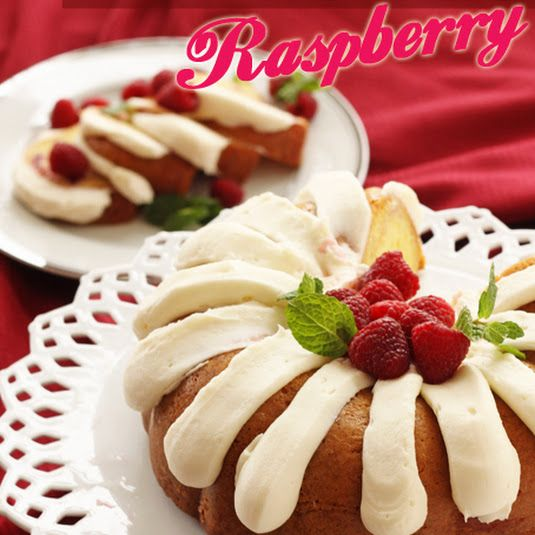 White Chocolate Raspberry Nothing But Bundt Cake