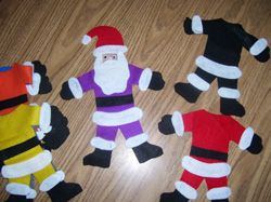 Santa Wore a Red Suit Felt Board, one of the best sites for felt board ideas