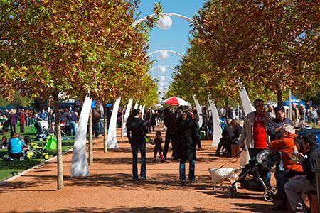 The Best Attractions and Activities in Dallas - Klyde Warren Park
