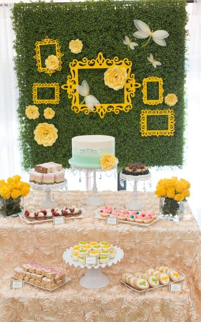 Amazing Dragonfly Garden Birthday Party!  See more party ideas at CatchMyParty.com!