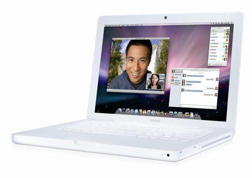Apple MacBook MB402LL/A 13.3-inch Laptop (2.1 GHz Intel Core 2 Duo Processor, 1 GB RAM, 120 GB Hard Drive) White