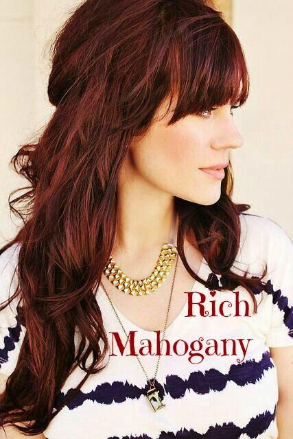 Mahogany Hair www.yourtonic.com/surya-henna-powder-mahogany.html