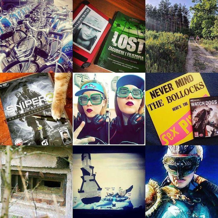 Trudno jest wyrzucić cały rok życia do kosza ale przynajmniej Instagram przypomina że rowerów kotełów książek giereczek i bunkrów żadna menda choćby tknęła nie zniszczy. To ja się idę w nich głębiej zakopać a Wam udanej zabawy pod nowym numerem życzę.  PS. Jedno z tych zdjęć leciało samolotem więcej razy ode mnie. I przeżyło.  #2017bestnine #neiragra #neiraczyta #neirawypełzaznory #HappyNewYear #bicycles #books #games #bunkers #gaminggirl #cats