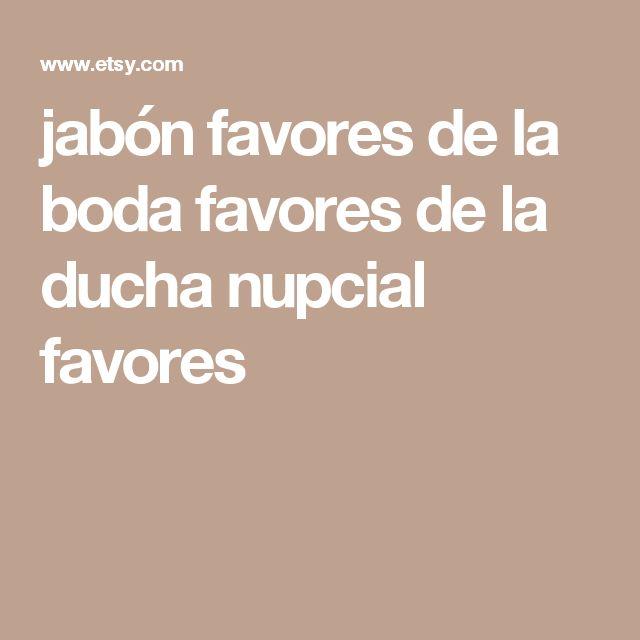 jabón favores de la boda favores de la ducha nupcial favores