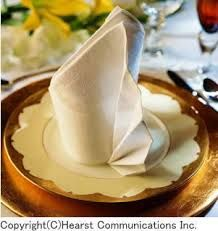「ナプキン 折り方」の画像検索結果