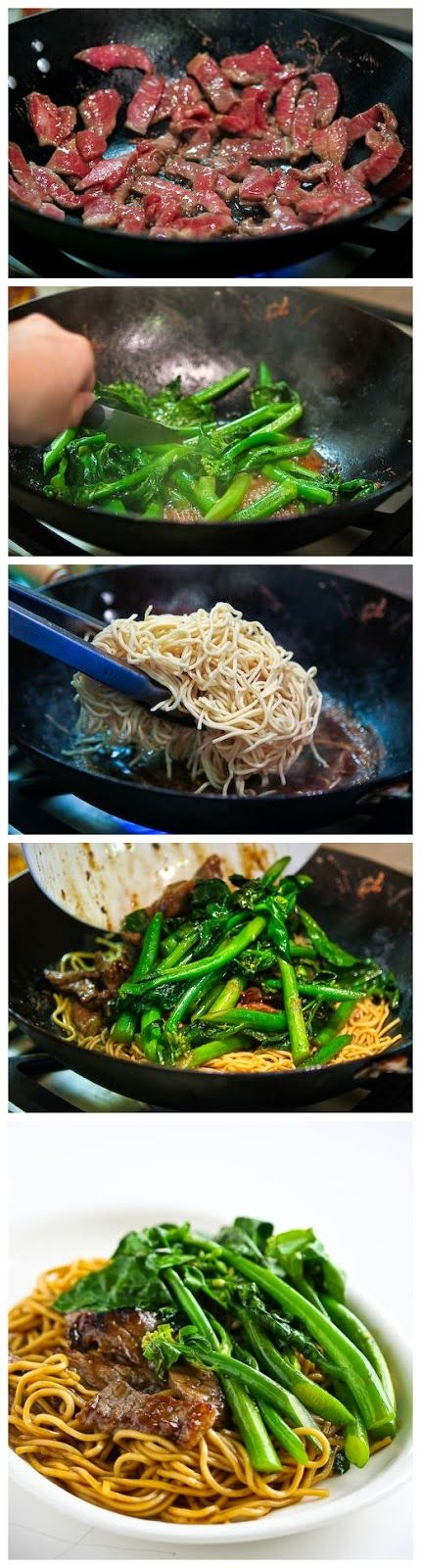 Chinese Broccoli Beef Noodle Stir Fry | Food drink
