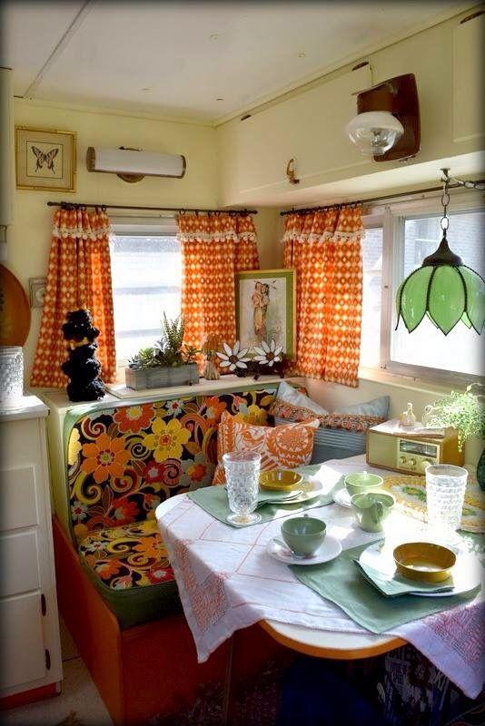 25 best ideas about vintage camper interior on pinterest vintage campers trailers camper. Black Bedroom Furniture Sets. Home Design Ideas