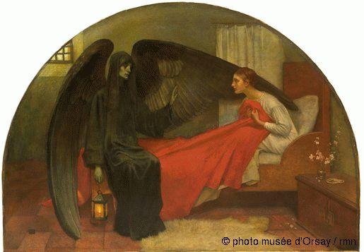 La jeune fille et la Mort, 1908, huile sur toile, 95 x 135 cm, musée d'Orsay, Paris, France