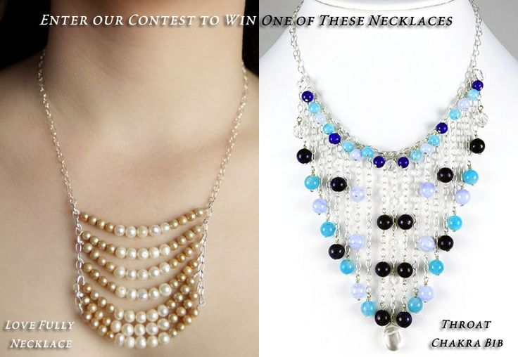 Enter to win one of these gorgeous necklaces: House
