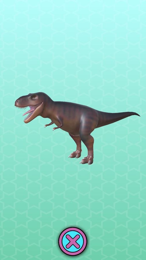 When you have found a toy like this awesome tyrannosaurus rex dinosaur you can inspect it in the Toy Inspector. Look how strong and terrifying this TRex is! Sharp and deadly teeth, his bite must be lethal! Roar!