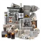 Verschillende kleuren kerstpakketten. Promotionele artikelen, premiums, gadgets, give-aways, relatiegeschenken, merchandising en promotioneel textiel.
