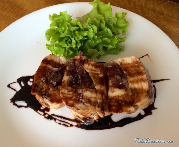 Receita de Frango no forno com vinagre balsâmico