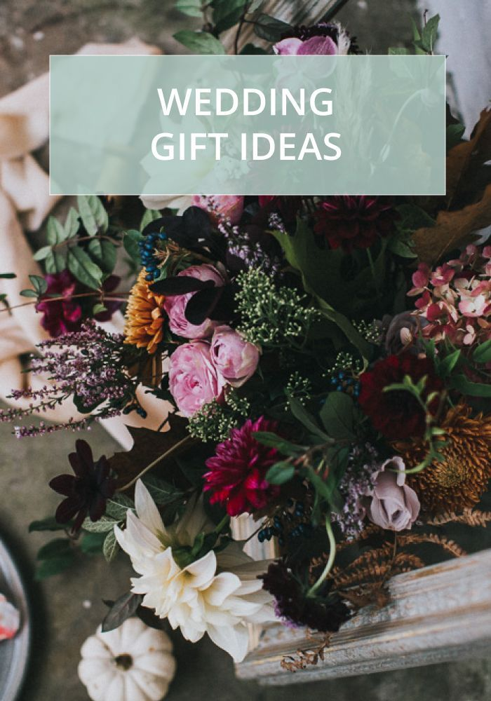 wedding gift list with experiences days from the wedding shop