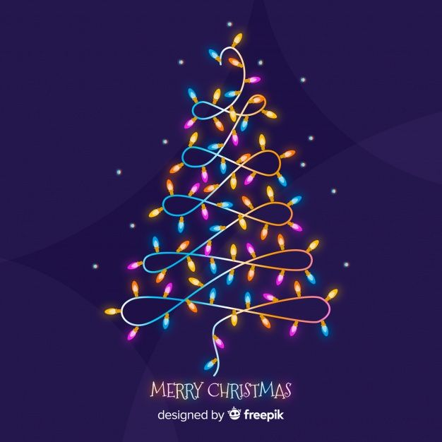 Download Colorful Light Garland Christmas Tree Background For Free Christmas Tree Background Light Garland Christmas Garland