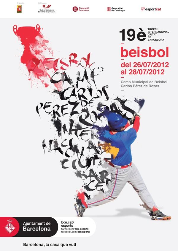 Els dies 26, 27 i 28 de juliol tindrà lloc la dinovena edició del Trofeu Internacional Ciutat de Barcelona de Beisbol.