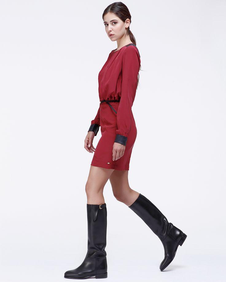 SCAROSSO RIDING BOOTS CLOTILDE NERA -> http://scaros.so/1pMibpq