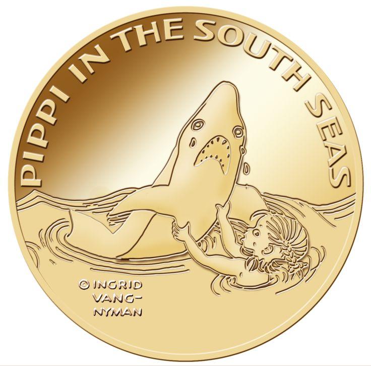 Pippi i Söderhavet 3,455 gram 90 % guld
