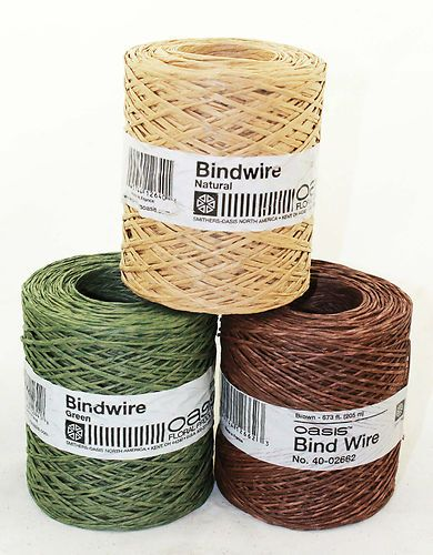 673 FEET - OASIS Bind Wire- 26 Gauge Paper-covered Structural Support Wire  -  ONLY:$14.99 at King's Wholesale
