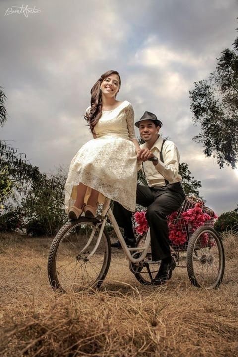 Pre-wedding pictures #vintage