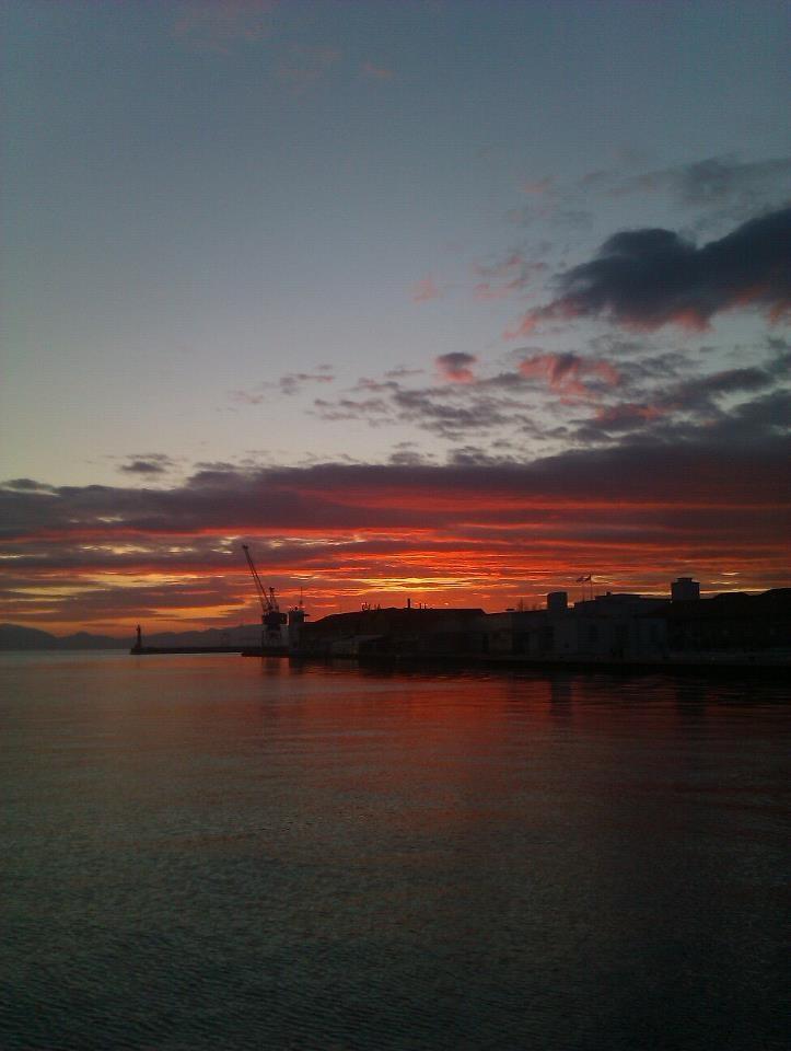 Thessaloniki harbor, Greece