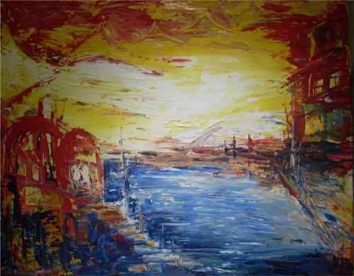 Oil and Acryl art Art gallery Sabine Budin www.sabinebudin.at