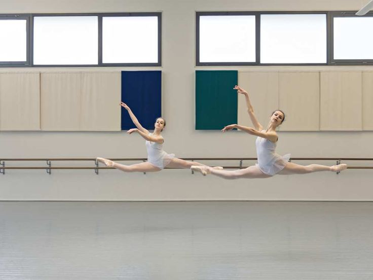 Students of the Paris Opera Ballet School   Photo by Yannick Labrousse