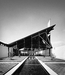Miles Warren, Warren & Mahoney - Harewood Crematorium