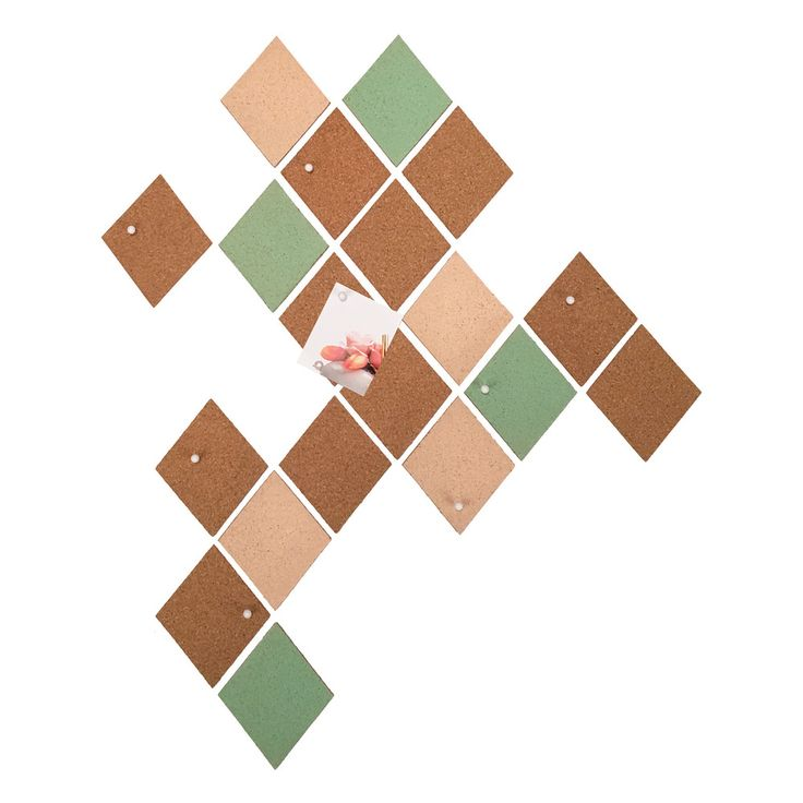 Mint Diamond Wall mounted board