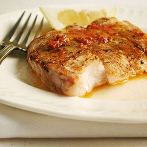 Baked Snapper with Chipotle Butter | MyRecipes.com #myplate #protein