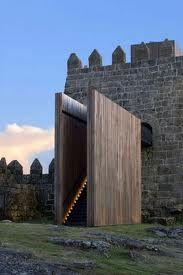 Goncalo Byrne architects, trancoso castle, Portugal