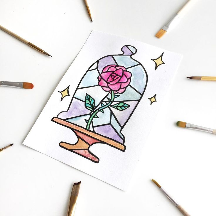 Картинки рисовать фломастером легко