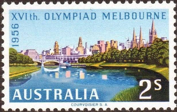 Australia 1956 - Olympic Games 1956, Melbourne   Australia, Stamp, Australia history