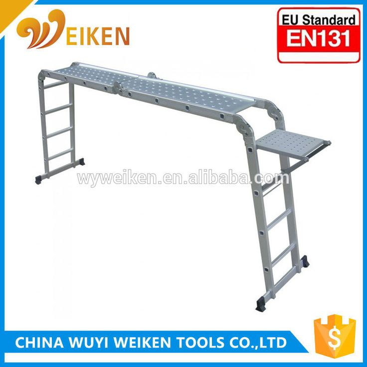Multi Purpose Ladder Uniersal Aluminium Step Platform Utility Tool Shelf workshelf WEIKEN