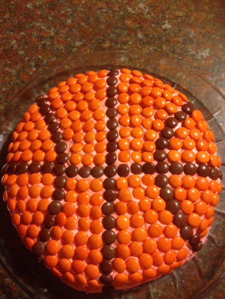 My son basketball cake for his birthday