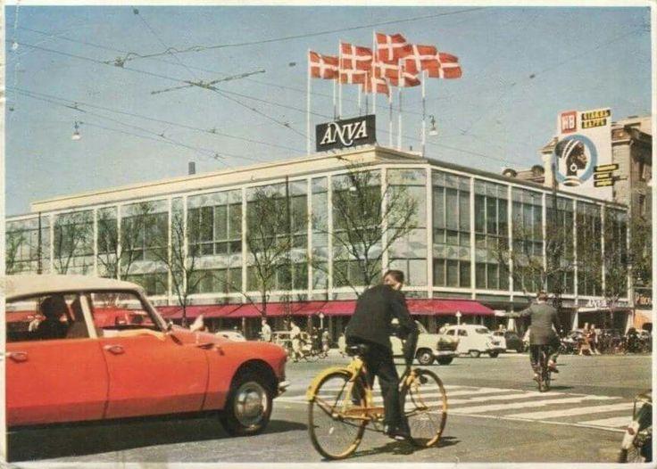 Anva på Vesterbrogade i 1960erne. Åh jeg bliver helt vemodig ;)
