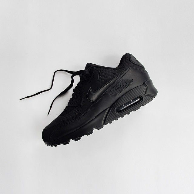 black on black #nike #sneakers