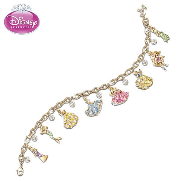 disney princess charm bracelet disney