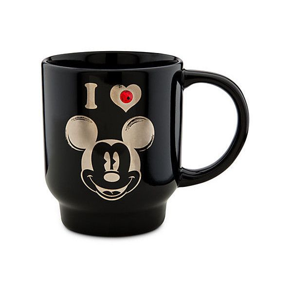 Mickey Mouse Mug ($13) ❤ Liked On Polyvore
