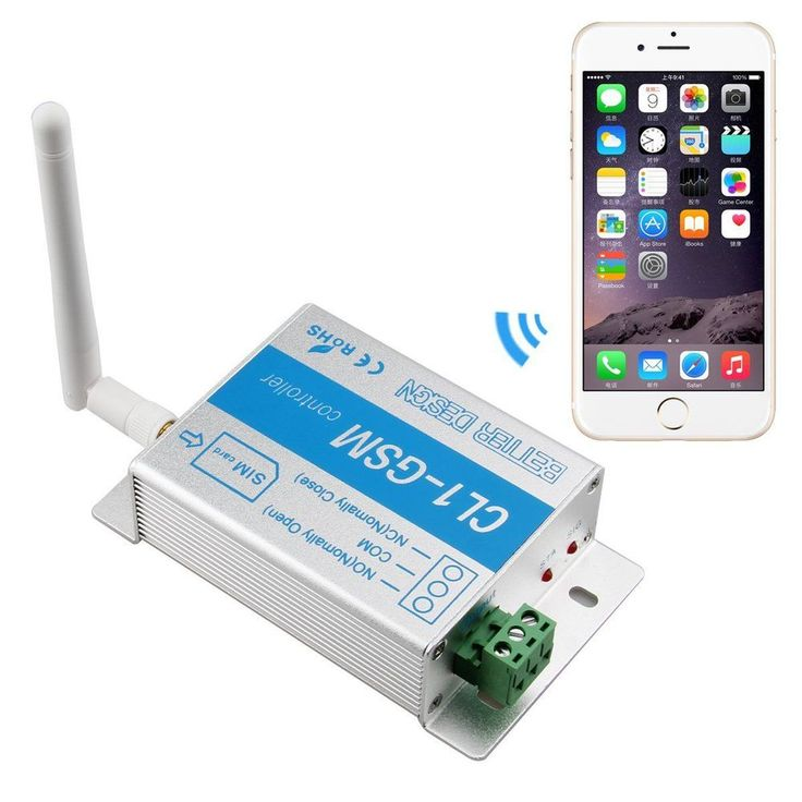 high-power AC motor, water-pump CL1-GSM Wireless Remote Access Control GSM Gate Opener