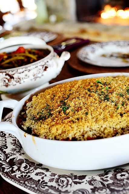 Broccoli Wild Rice Casserole. Beautiful colors, beautiful textures...and so tasty!